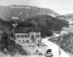 Original Hollywood Sign in 1923  jj