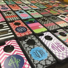 Monogrammed Otterbox iPhone 6 Cases at BoutiqueMe.com
