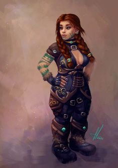 Just stumbled across this cool page for World of Warcraft Wildhammer Dwarf Monk Dungeons And Dragons Characters, Dnd Characters, Fantasy Characters, Female Characters, Fantasy Dwarf, Fantasy Rpg, Fantasy Warrior, Fantasy Girl, Fantasy Character Design