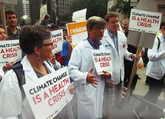 Meet the New Climate Change Warrior: Your Doctor