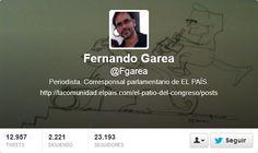 Fotos Twitter de portadas de Fernando Garrea