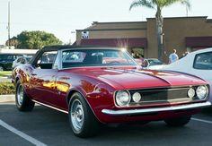 1967 Chevy Camaro Convertible!