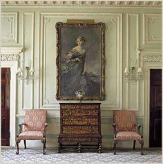 Brocket Hall drawing room