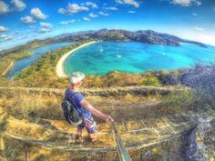 Ein Tag bei Deep Bay, Antigua, Karibik