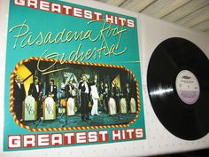Pasadena Roof Orchestra - Greatest Hits BELGIUM 1990 Lp mint