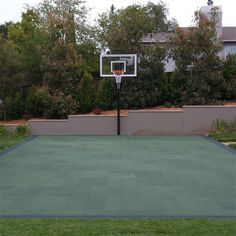 Half Court, Oh Yeah We Are Getting A Basketball Hoop On Our Lawn.to Be  Installed By The End Of July 2013