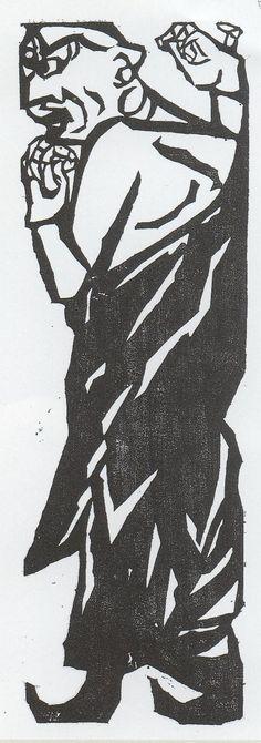 """釈迦十大弟子"" Shikou Munakata"