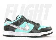 Wanted these SO bad when I first got into sneakers. My true Cinderella slipper, right here. TIFFANY Nike Dunk SB. Can't believe they go for $850 now...
