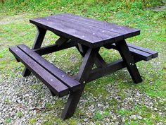 Best Outdoor Furniture Images On Pinterest Lawn Furniture - Picnic table recycled plastic lumber
