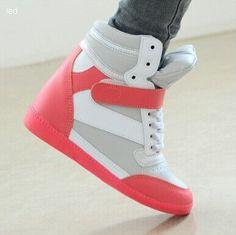 Women's Wedges High Top Sneaker