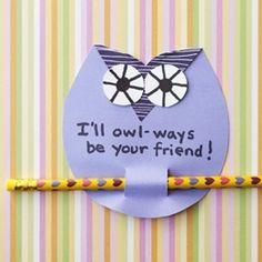 Valentines - Owl crafts-valentines