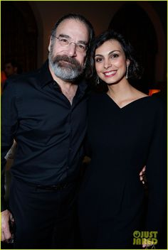 Saul and Jessica (aka...Morena Bacarrin)
