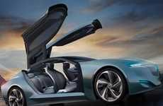 Futuristically Revived Automobiles