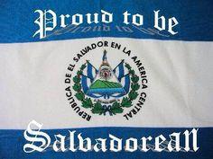 Proud To Be Salvadoreno