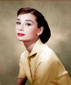 Audrey Hepburn by klimbims, via Flickr