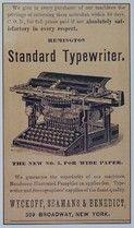 Free Clip Art - Vintage Typewriter - The Graphics Fairy Posters Vintage, Vintage Labels, Vintage Ads, Vintage Images, Vintage Signs, Vintage Prints, Vintage Market, Antique Typewriter, Old Advertisements