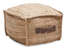 JUUTTI-rahi neliö (Natural) - Rahit | Asko Tissue Holders, Outdoor Furniture, Outdoor Decor, Ottoman, Home Decor, Decoration Home, Room Decor, Home Interior Design, Backyard Furniture