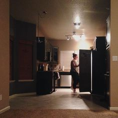 @rachii_lynee is looking so domestic in her new kitchen. Total wife training!  #domesticlife #turlock