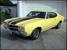 1970 Chevrolet Chevelle LS6  454/450 HP, 4-Speed
