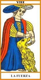 Cartas del Tarot: La Fuerza