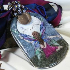 Queen of the Summer Stars - Pendant | kellscreations - Jewelry on ArtFire
