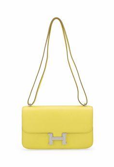 hermes bag outlet - Herm��s So-Kelly Sac en veau Togo, couleur orange, garnitures en ...