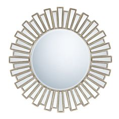 Shop Quoizel  QR983 Round Decorative Mirror  at ATG Stores. Browse our wall mirrors, all with free shipping and best price guaranteed.