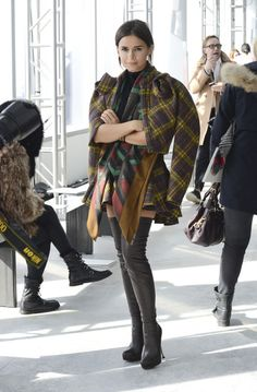 Delpozo - Front Row - Mercedes-Benz Fashion Week Fall 2014 - Pictures - Zimbio