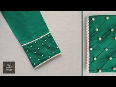 Kurti Sleeves Design, Sleeves Designs For Dresses, Kurta Neck Design, Saree Blouse Neck Designs, Fancy Blouse Designs, Dress Neck Designs, Sleeve Designs, Kurti Designs Party Wear, Salwar Designs