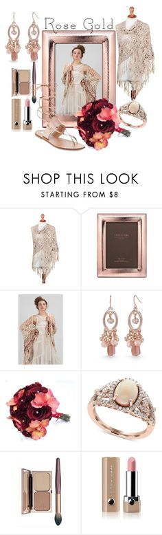 """Red Rose Gold"" by alejandra-soraires on Polyvore featuring moda, NOVICA, Argento SC, Kim Rogers, Effy Jewelry, Marc Jacobs y Steve Madden"