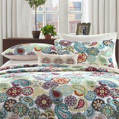 Buy Mizone Asha Coverlet Set today at jcpenney.com. You deserve great deals and we've got them at jcp!