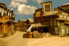 Ghost town Photo  (architecture, wild west)
