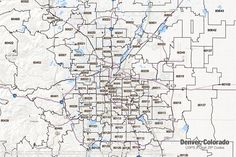 15 Best Denver Historical Maps images | Historical maps ...