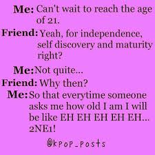 hahaha That was tots me. Now Im Eh~ Eh~ Eh~ Eh~ 2NE3 haha