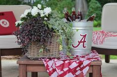 Football season is upon us which means game day fun, cookouts and tailgate parties — create a game day look that will scream victory at home or at the tailgate party!