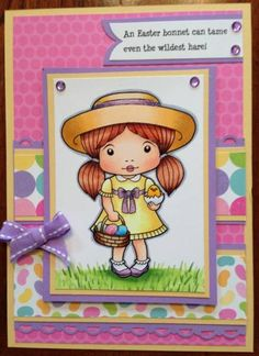 Easter Marci by TrishaStanley - Cards and Paper Crafts at Splitcoaststampers