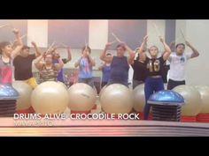 Drums Alive -- CrocodileRock - YouTube