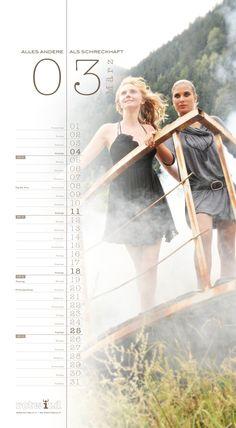 Rotwild Kalender März 2012