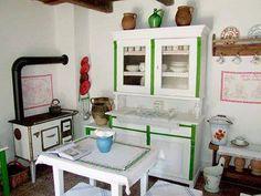 Old kitchen in Vojvodina, Serbia