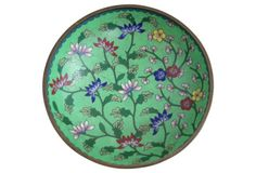 French Cloisonné Enameled Bowl