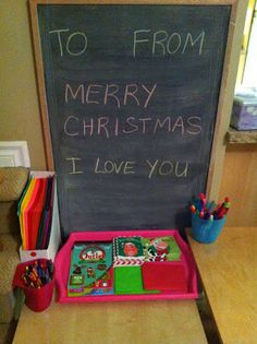 Rockabye Butterfly: Christmas Card Making Table