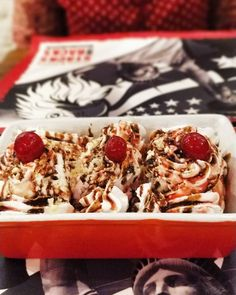 Banana Split.. #cantfitinmyjeans #foodie