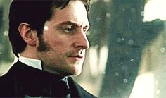 It's a gif! North And South, Elizabeth Gaskell, John Thornton, Look Back At Me, Mr Darcy, Thorin Oakenshield, Ideal Man, British Men, Sleepy Hollow