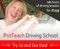 Driving Lessons in Burton on Trent and Derby  www.proteachdrivinglessons.co.uk