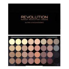 Makeup Revolution Ultra 32 shade Eyeshadow Flawless Matte bestel je online bij Boozyshop, dé make up webshop van Nederland! Voor 20 uur besteld? De volgende (werk)dag in huis.