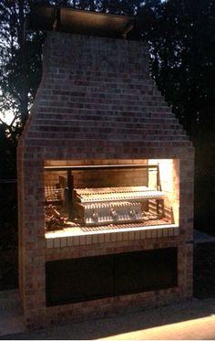 "Gaucho Grill - argentine masonry insert 38"""