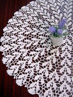 Crochet Placemat Patterns, Crochet Blanket Edging, Crochet Doily Diagram, Crochet Lace Edging, Crochet Tablecloth, Filet Crochet, Crochet Doilies, Knit Crochet, Bead Crafts