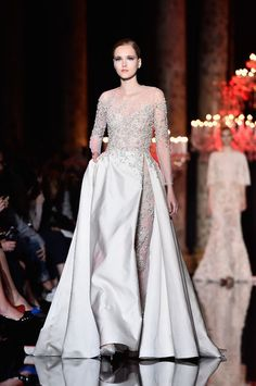 The Elie Saab Wedding Dress and 3 More Wedding-y Dresses From the Couture Show