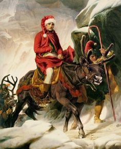 Famous paintings and their christmas parodies. Merry Christmas And Happy New Year, Christmas Fun, Edwardian Era, Canvas Prints, History, Antiques, Movie Posters, Pictures, Fictional Characters