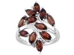 Red Garnet 2.30ctw Sterling Silver Ring $39.99 4.72 14 reviews